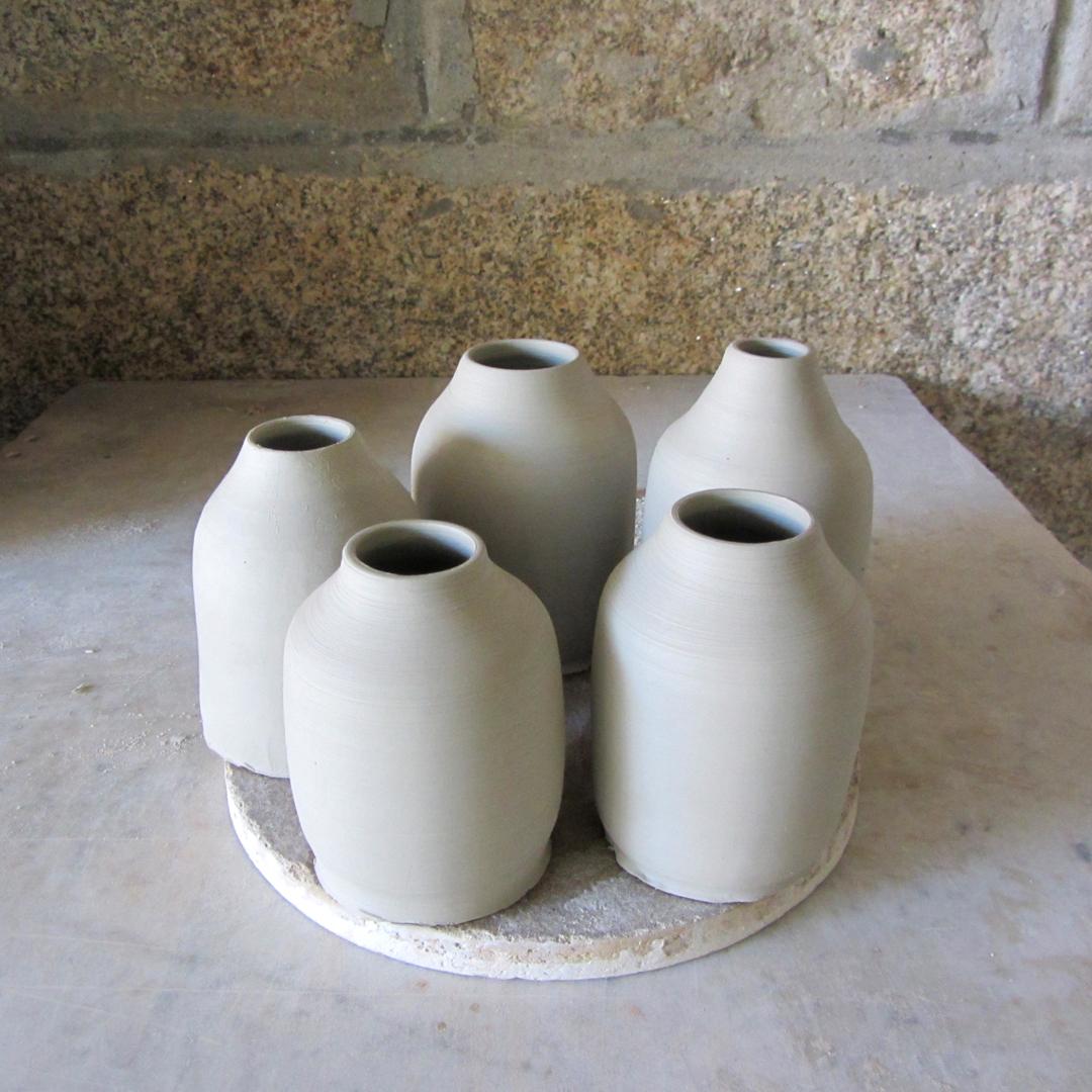 Proceso torno cerámica artesanal Blaurtopías
