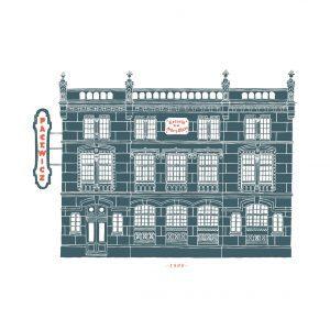 Artes Oficios Vigo Pacewicz ilustración lámina print