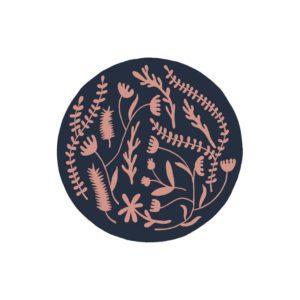 Estampado floral ilustración lámina print