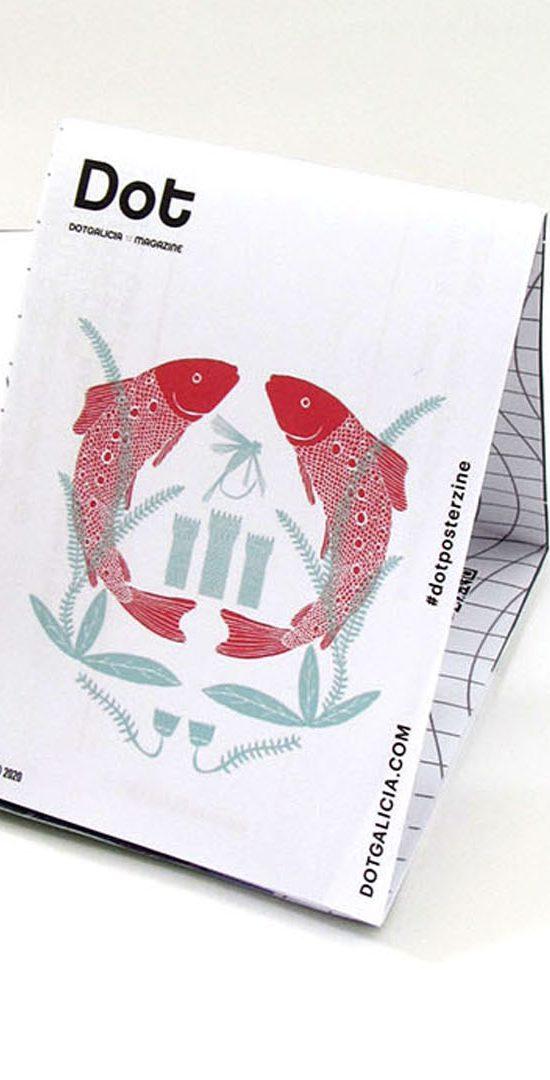 Dot Galicia Magazine Ilustración Blaurtopías