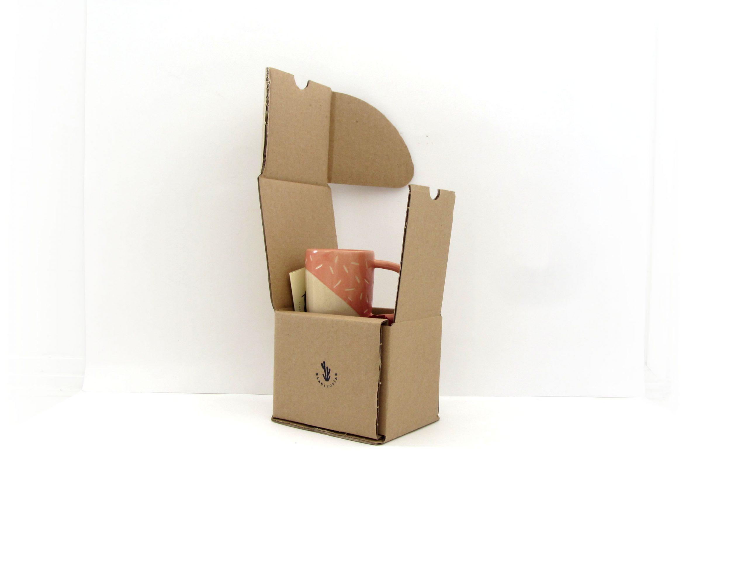 Packaging cerámica Blaurtopías