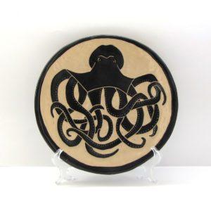 retrato personalizado cerámica ilustrada esgrafiado artesanía galicia